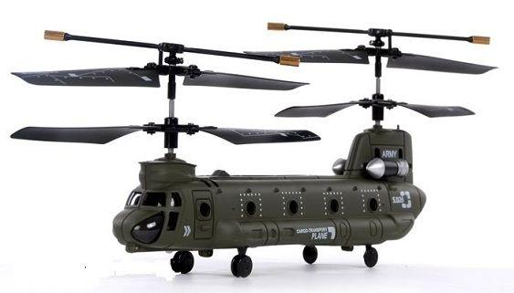 Távirányítású Rc helikopter 3 csatornás/gyroscope - Syma S026G Chinook beltéri