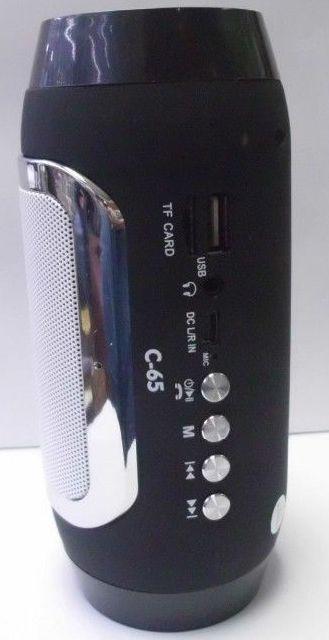 Bluetooth hangszóró 2.1 hangszóró mélynyomó, Mp3,Rádió,USB, TF kártya,3,5 jack, Sztereó Telefon kihangosítás - C-65