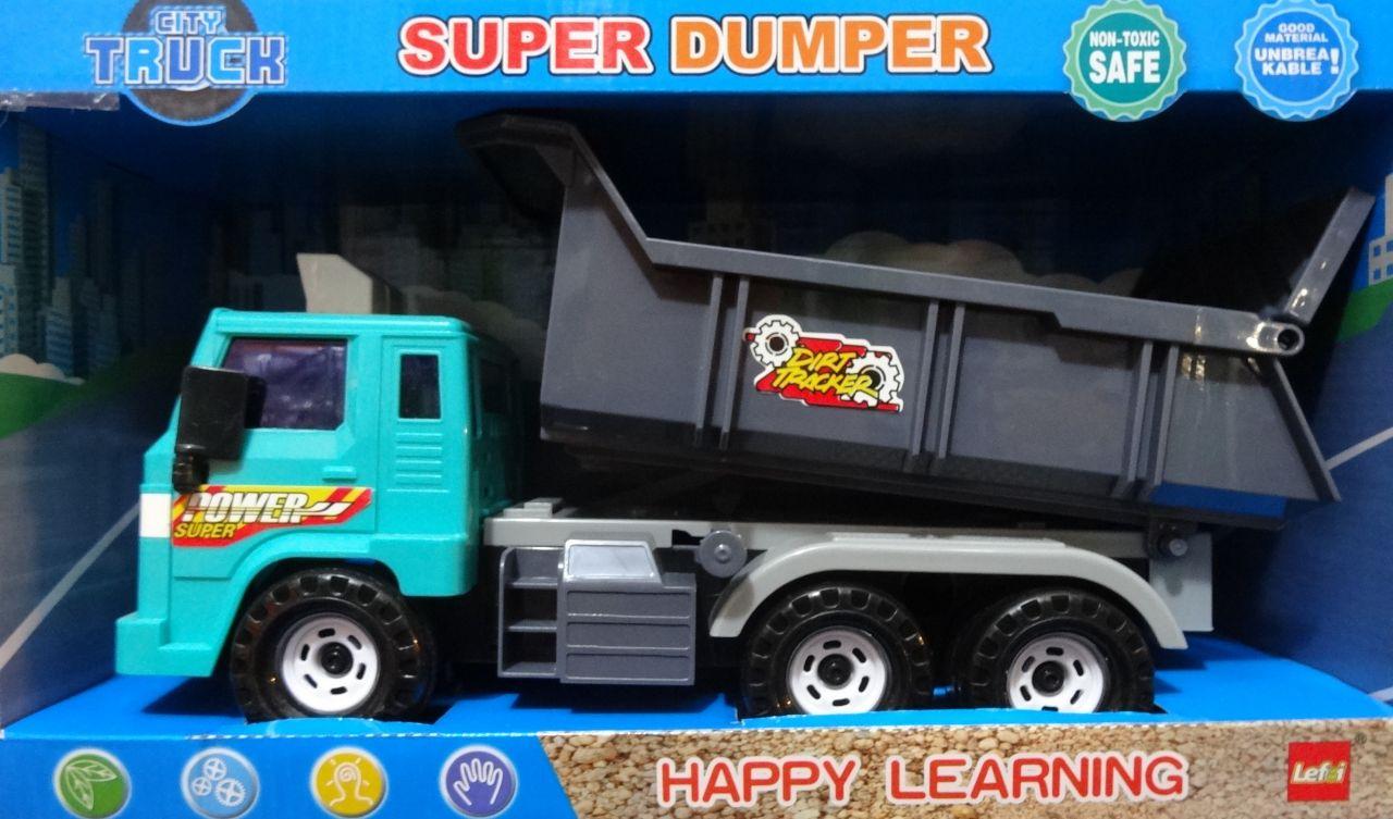 City Truck Műanyag teherautó gyerek játék Super Dumper - No.8977