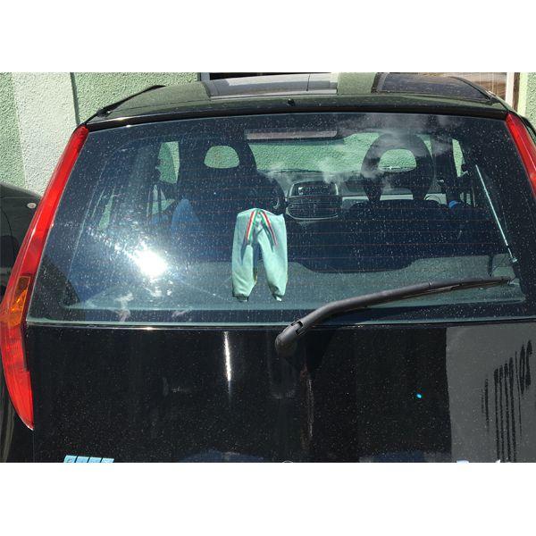 Szürke mackónadrág gépkocsi ablakban - Vegyes tréfás termékek