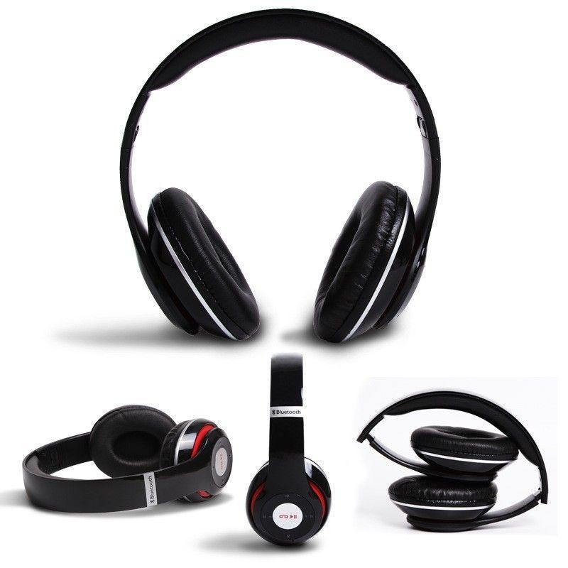 Vezeték nélküli Bluetooth sztereó headset mikrofonnal fejhallgató Mp3, TF/MicroSD Slot, FM Rádió - P15