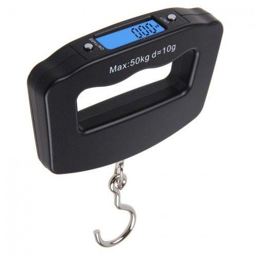 Digitális Kézi poggyász Mérleg Fekete 50kg-ig