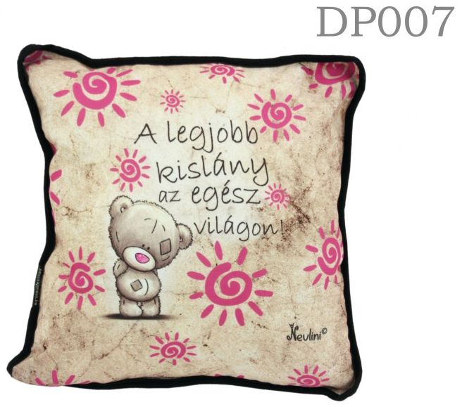 Legjobb kislány DP007 - Díszpárna