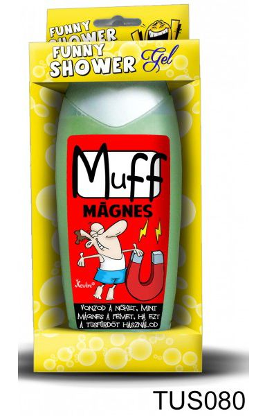 Muff mágnes 300ml 080 - Tréfás Tusfürdő