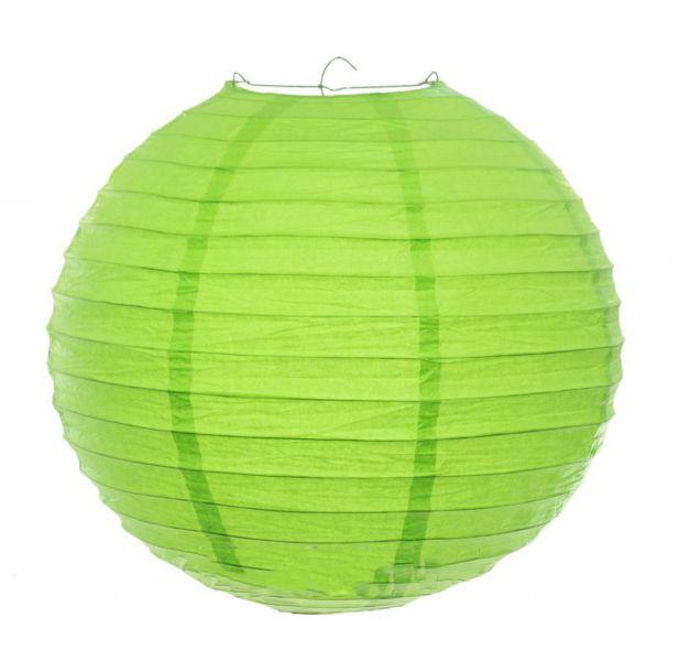 Lampion gömb zöld 30cm 372089