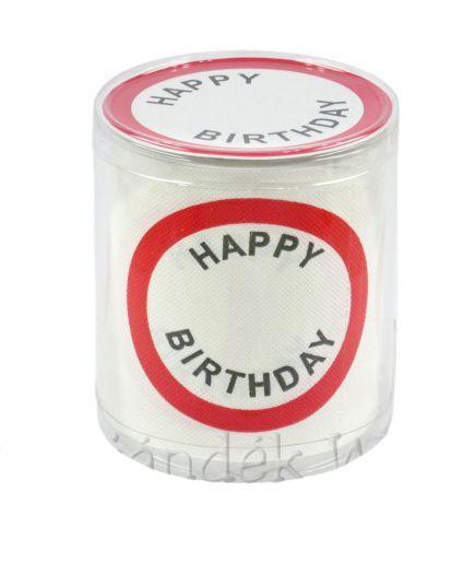 WC papír Happy Birthday 33/0026 - Tréfás WC papír