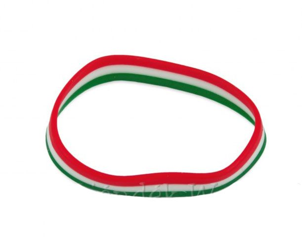 Karkötő szilikon nemzeti színű - Magyaros ajándék