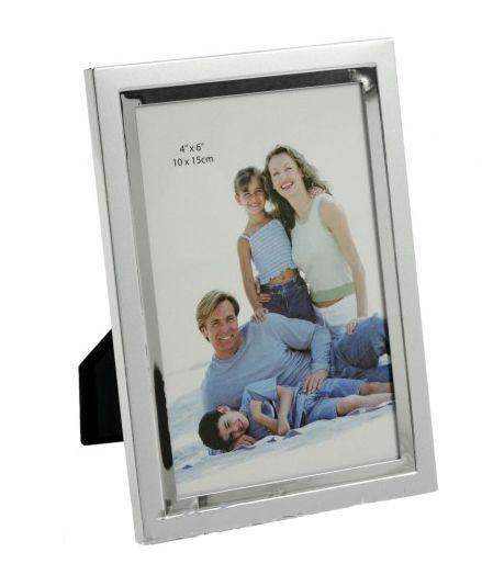 Fényképtartó ezüst 10x15cm-es képhez ASP08-4R - Fényképtartó
