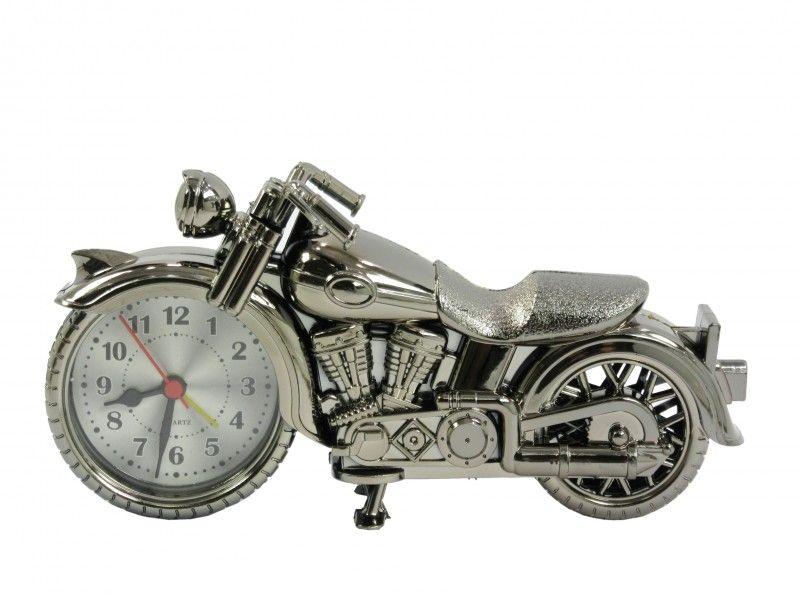 Motoros ébresztő óra 21x11cm 6242 - Óra, falióra