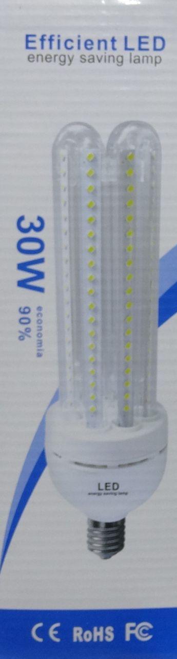 120 LED fénycső izzó E27 30W 3200K / 6400K A Energiatakarékos izzó