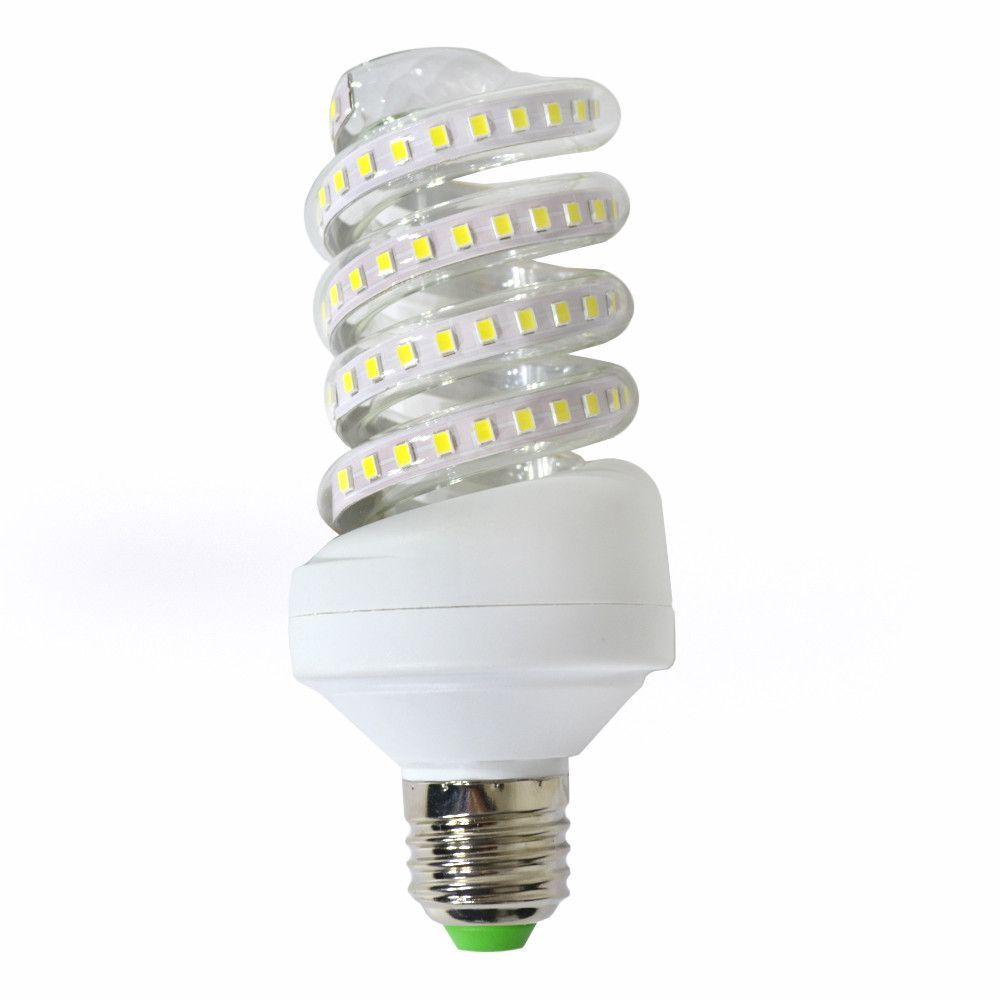 Spirál LED fénycső izzó E27 7W=~105W 3200K / 6400K A Energiatakarékos izzó