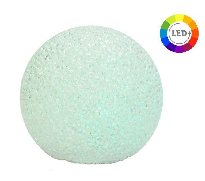 LEDes gömb színes 11,5cm XX8310050