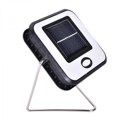 Hordozható 1 COB Led lámpa akkumulátoros napelemes USB kemping lámpa - RY-T913