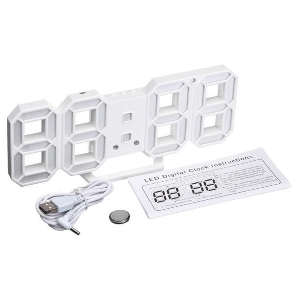 Design LED Digitális ébresztő óra - DS-6609