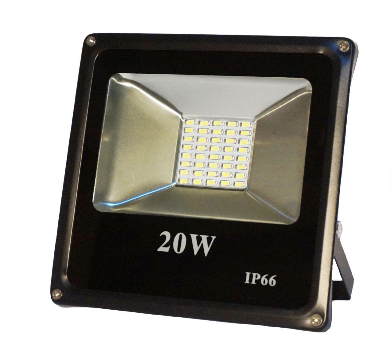 20W CREE LED-es reflektor fényvető hideg fehér SLIM Szabadtéri spotlámpa IP66