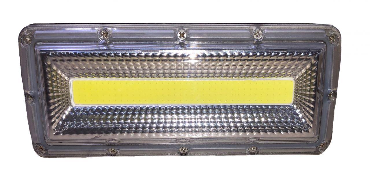 50W COB LED-es reflektor fényvető hideg fehér DIY Ultra SLIM Szabadtéri spotlámpa IP66