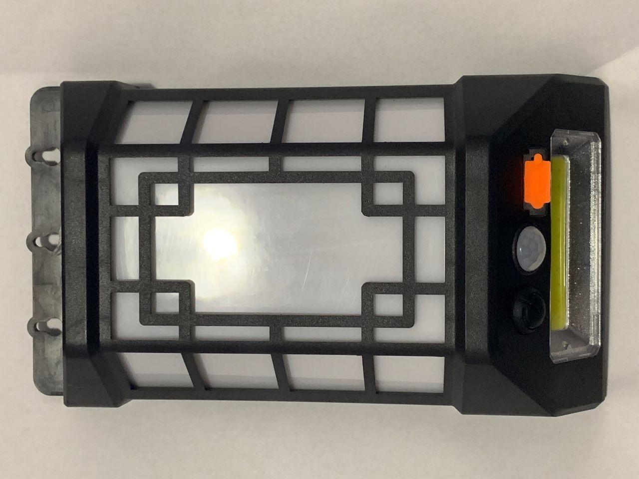 Vezeték nélküli Napelemes 6 LED +20 COB LED fali lámpa fény-mozgásérzékelős - SH-802-Fehér
