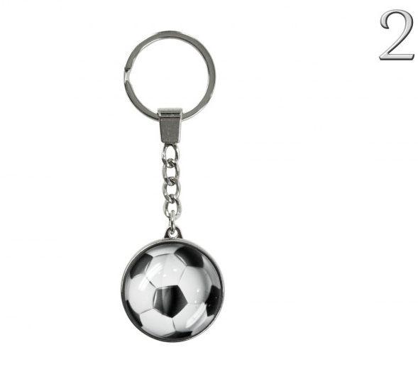 Kulcstartó focilabda 10cm 2féle 6227