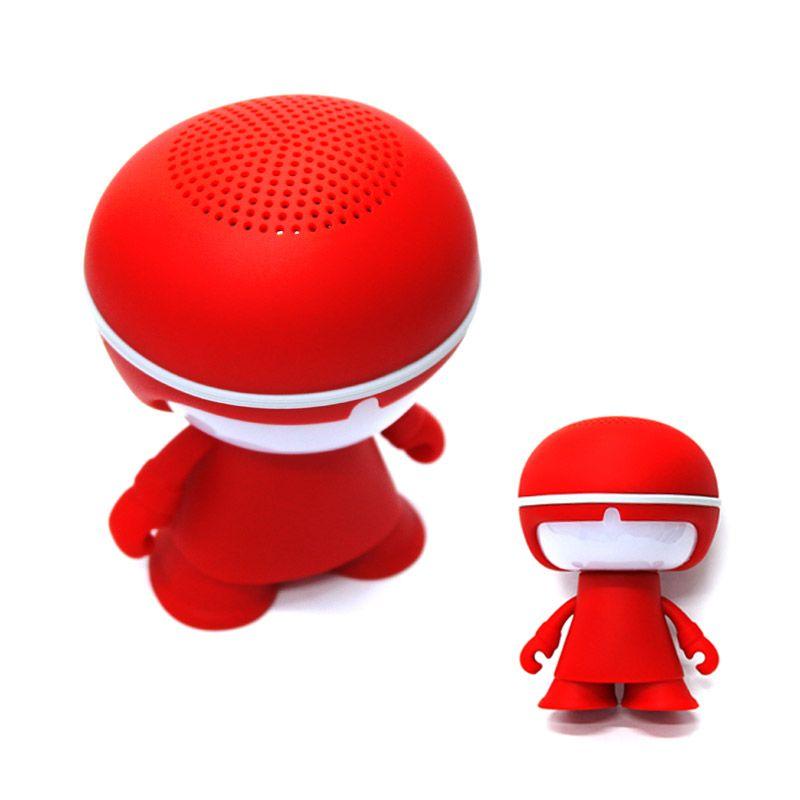 Bluetooth hangszóró Emberke LED fények, Mp3,Rádió,USB, TF/micro SD kártya - CH-M80