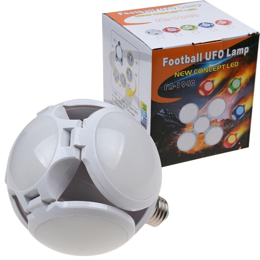Összecsukható labda formájú E27 Led UFO izzó 40W - FA-1940