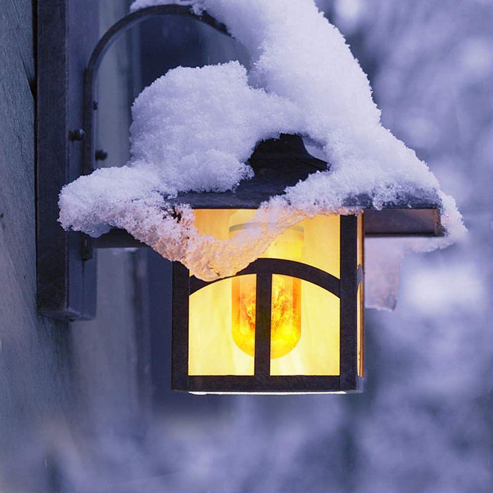 Lángoló fényű Led izzó E27 9W Energiatakarékos Led izzó