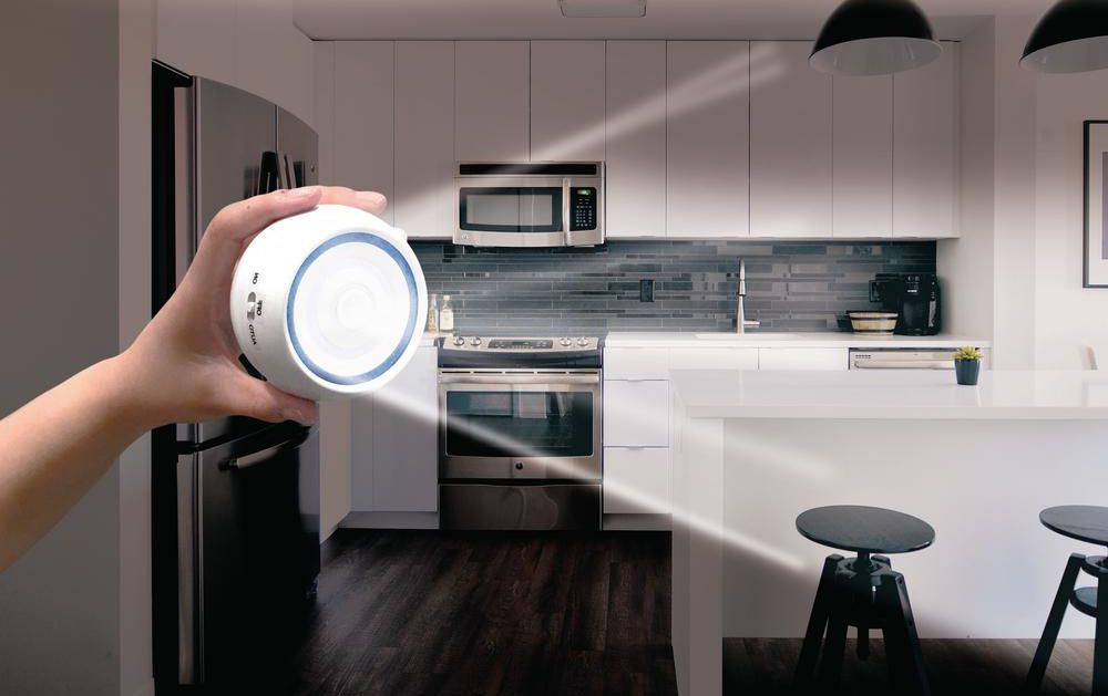 Vezeték nélküli mozgásérzékelős COB LED fali lámpa 360 fokban forgatható - EZBright360