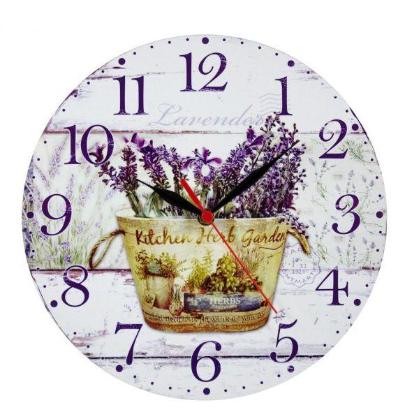 Falióra Lavender 29cm 8-28234 - Óra, falióra