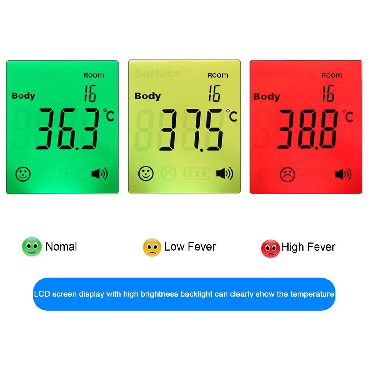 Érintés nélküli digitális infravörös hőmérő