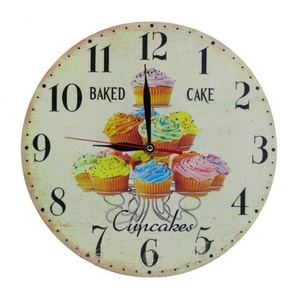 Falióra muffin Baked Cake 28cm 8-28113 - Óra, falióra