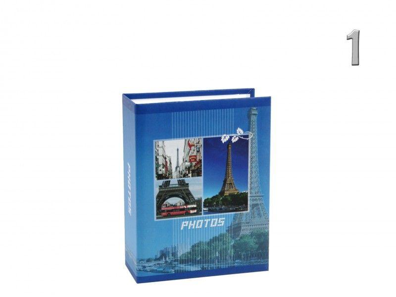 Fényképalbum városok 100db 10x15cm-es képhez MM46100 EUROPE 3féle - Fényképalbum
